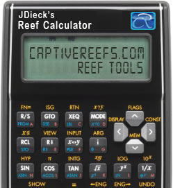 reefcalculator - Reef Calculators!